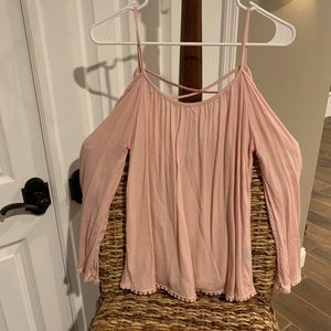 Charlotte russe light pink top
